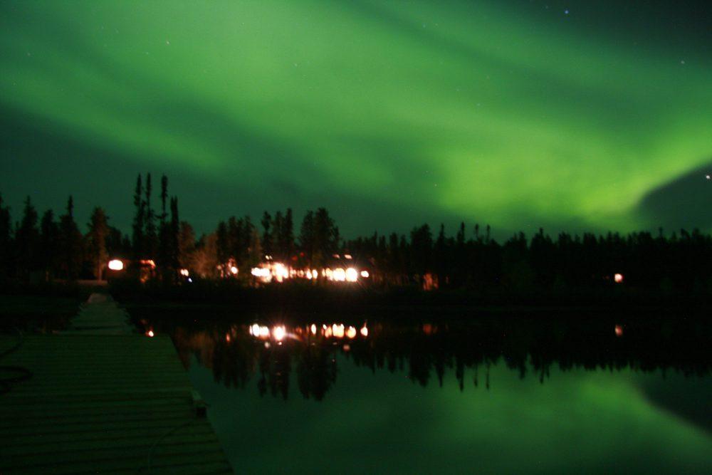 Spectacular September Northern Lights