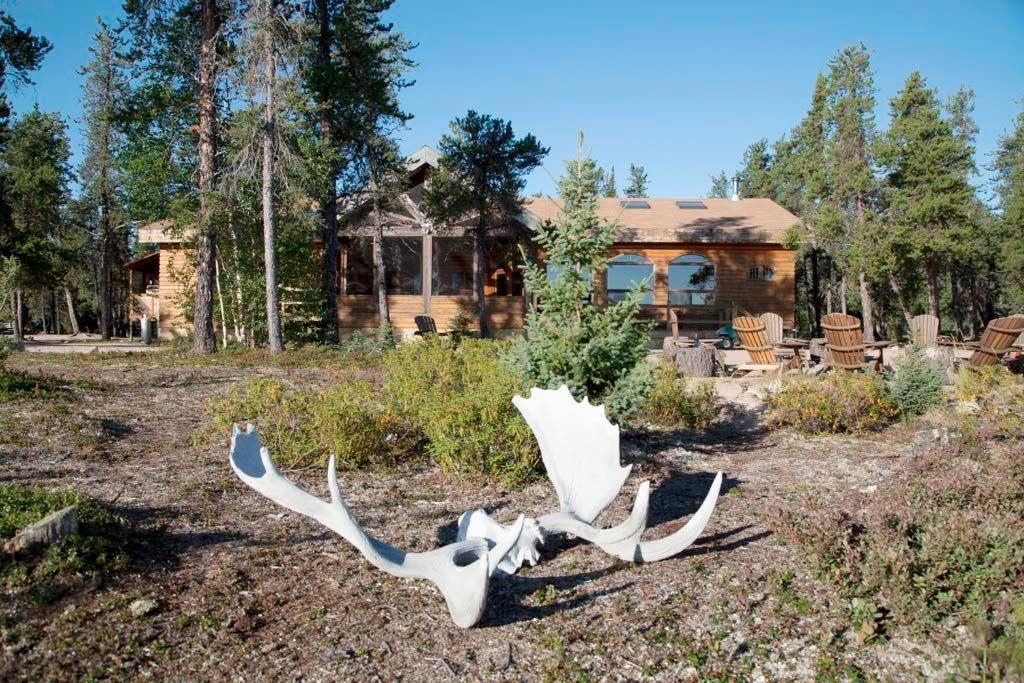 Ganglers Lodge Exterior