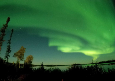 Northern Lights over Egenolf Lake