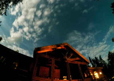 Night Sky over North Seal River Lodge